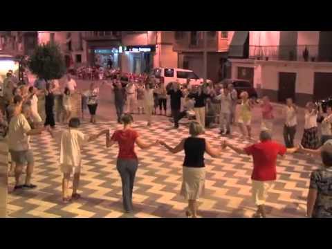Sardana i Jota per la Diada Nacional de Catalunya a Riba-roja d'Ebre