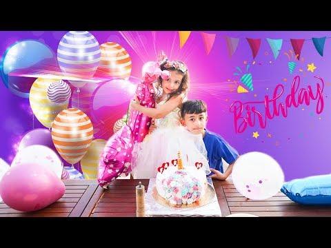 سوبر سمعة وفرح - عيد ميلاد فرح  -  super somaa and farah birthday