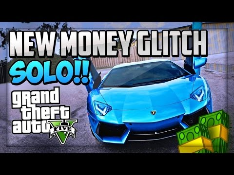 "GTA 5 SOLO Money Glitch - SOLO GTA V 1.17 Money Glitch ""Unlimited Money"" (GTA 5 1.17 Money Glitch)"