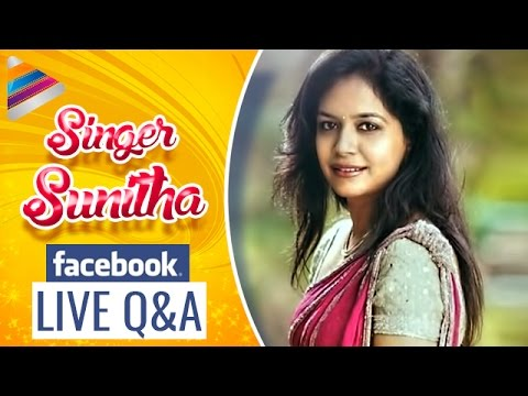 Singer Sunitha Comments on Gautamiputra Satakarni Movie | Sunitha Exclusive Q & A with Facebook Fans