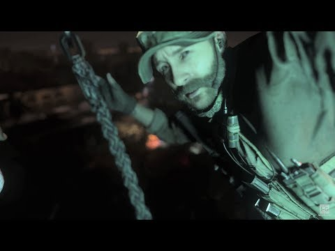 Call Of Duty: Modern Warfare Gameplay Walkthrough - Mission 7 - The Embassy - PC 4K