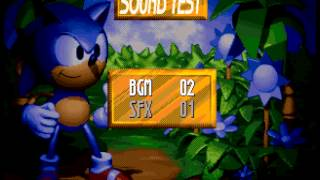 Sonic 3D Blast - Green Grove Act 2 Theme - User video