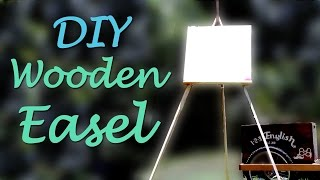 Make my dream come true: https://www.patreon.com/AndreaArzensek DIY wooden easel. Limited tools project! I