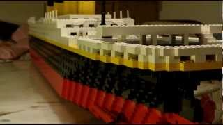 My RMS TITANIC Lego model 2009-2012