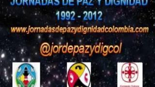 HIMNO DE JORNADAS DE PAZ Y DIGNIDAD - CANTA ABUELA GLORIA GONZALEZ - CAMINO ROJO