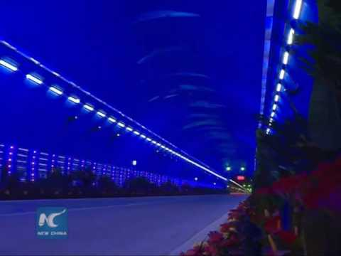China's longest highway tunnel opens to traffic
