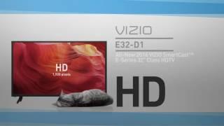 """All-New 2016 VIZIO E32-D1 SmartCast™ E-Series 32"""" Class HDTV // Full Specs Review  #VIZIO"""