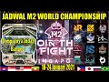 JADWAL M2 MOBILE LEGEND 2021 | ROASTER DAN BRACKET PLAYOFF M2 WORLD CHAMPIONSHIP TERBARU