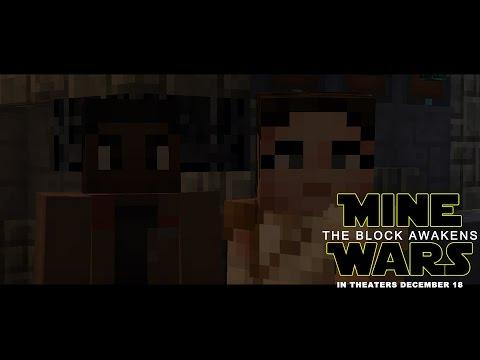 Star Wars: The Force Awakens Trailer (Minecraft)