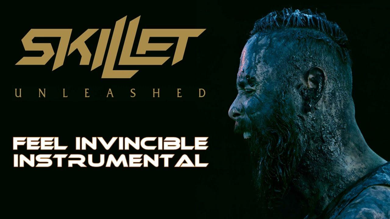 skillet feel invincible official instrumental lyrics youtube. Black Bedroom Furniture Sets. Home Design Ideas