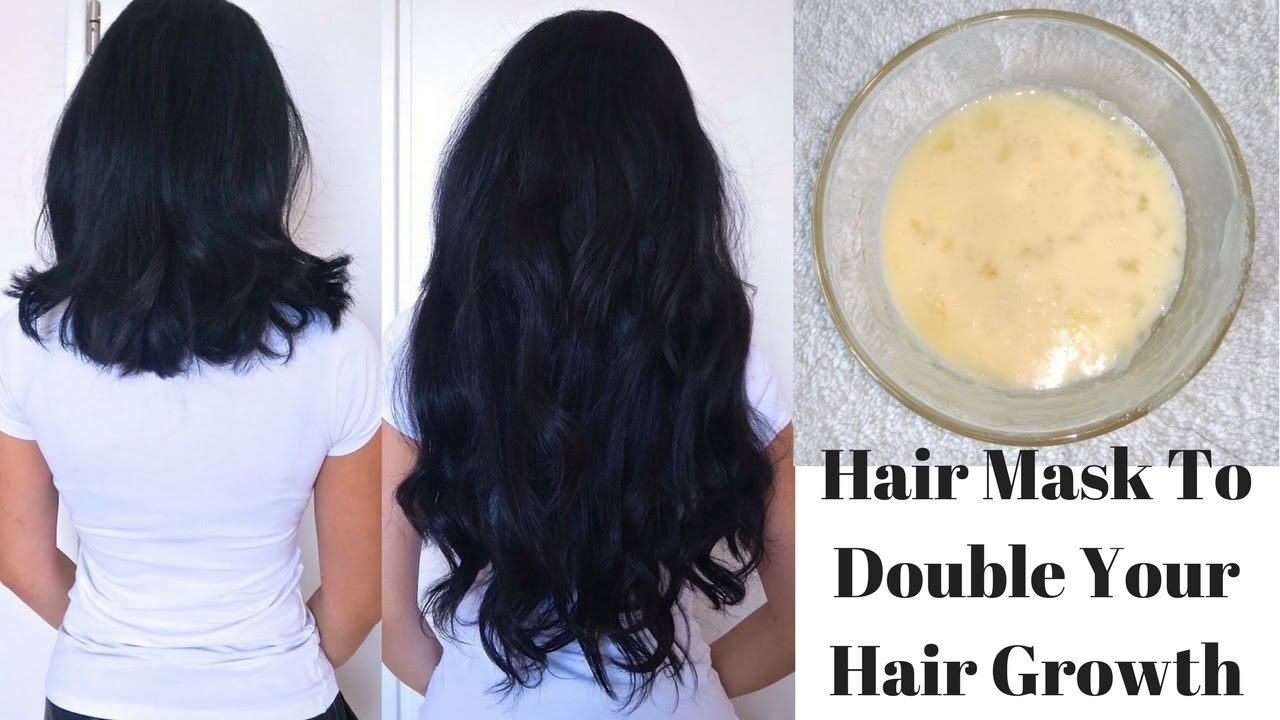 Hair Mask To Double Your Hair Growth In Just 1 Month Diy Egg Hair