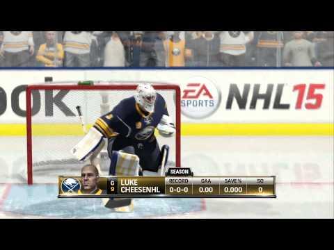 NHL 15 Be A Goalie #1