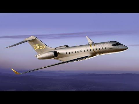 Global 5500 - Maintenant en service