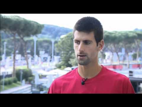 Novak Djokovic Rome Preview Interview