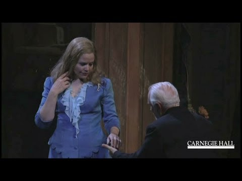 """Renée Fleming in Conversation with André Previn: """"A Streetcar Named Desire"""""""