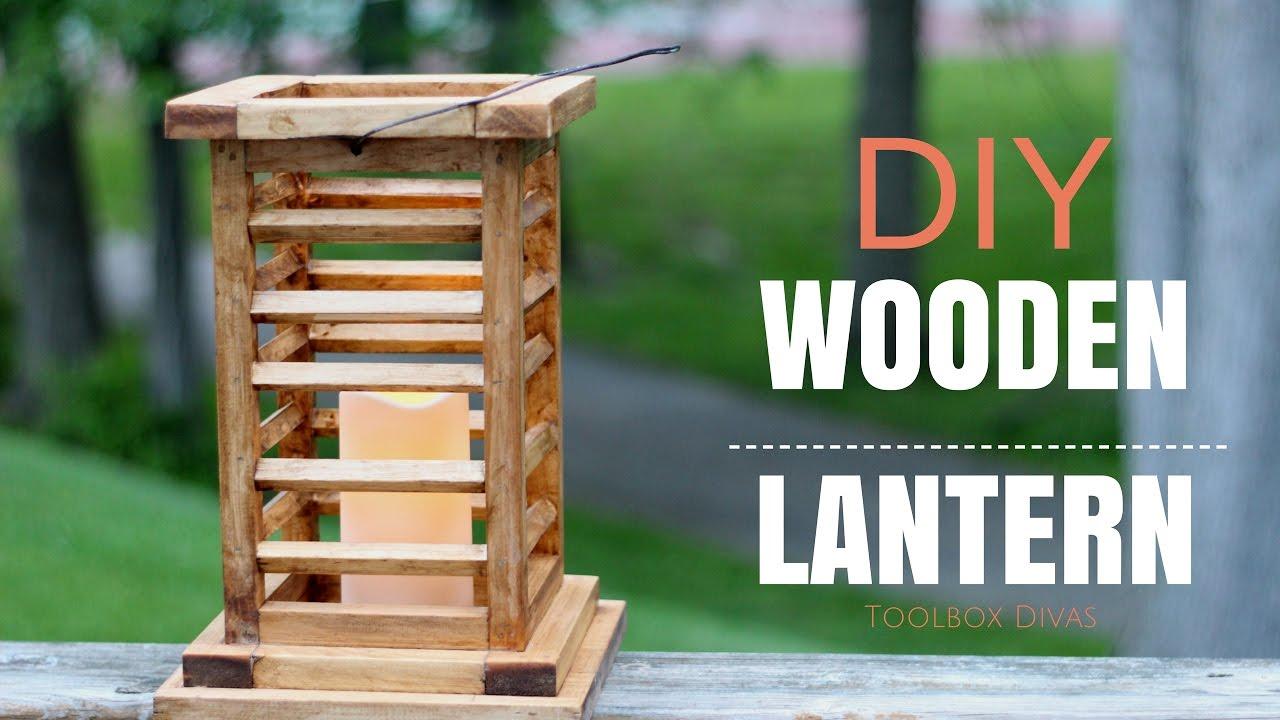 Diy Wooden Lantern You Can Make This