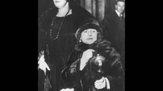 Soprano Mary Garden ~  Jock O'Hazeldean  (1929)