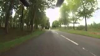 Staffordshire Ironman 70.3  bike route (final section)