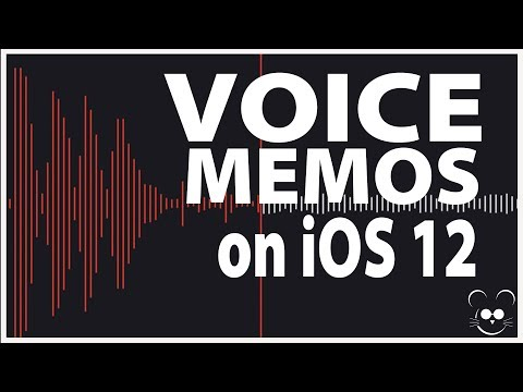 Using the Updated Voice Memos in iOS 12 | Life After Sight Loss