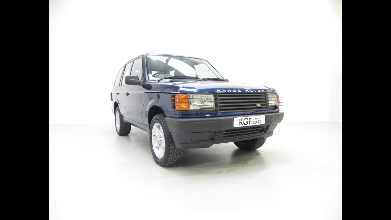 An Early Immaculate P38A Range Rover 4 0SE with 63 003 Miles from
