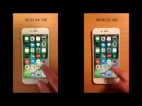 El antes y el después de un iPhone 6S tras reemplazar la batería