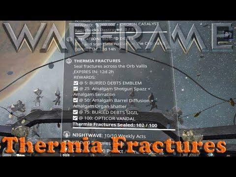 Warframe - Thermia Fractures thumbnail