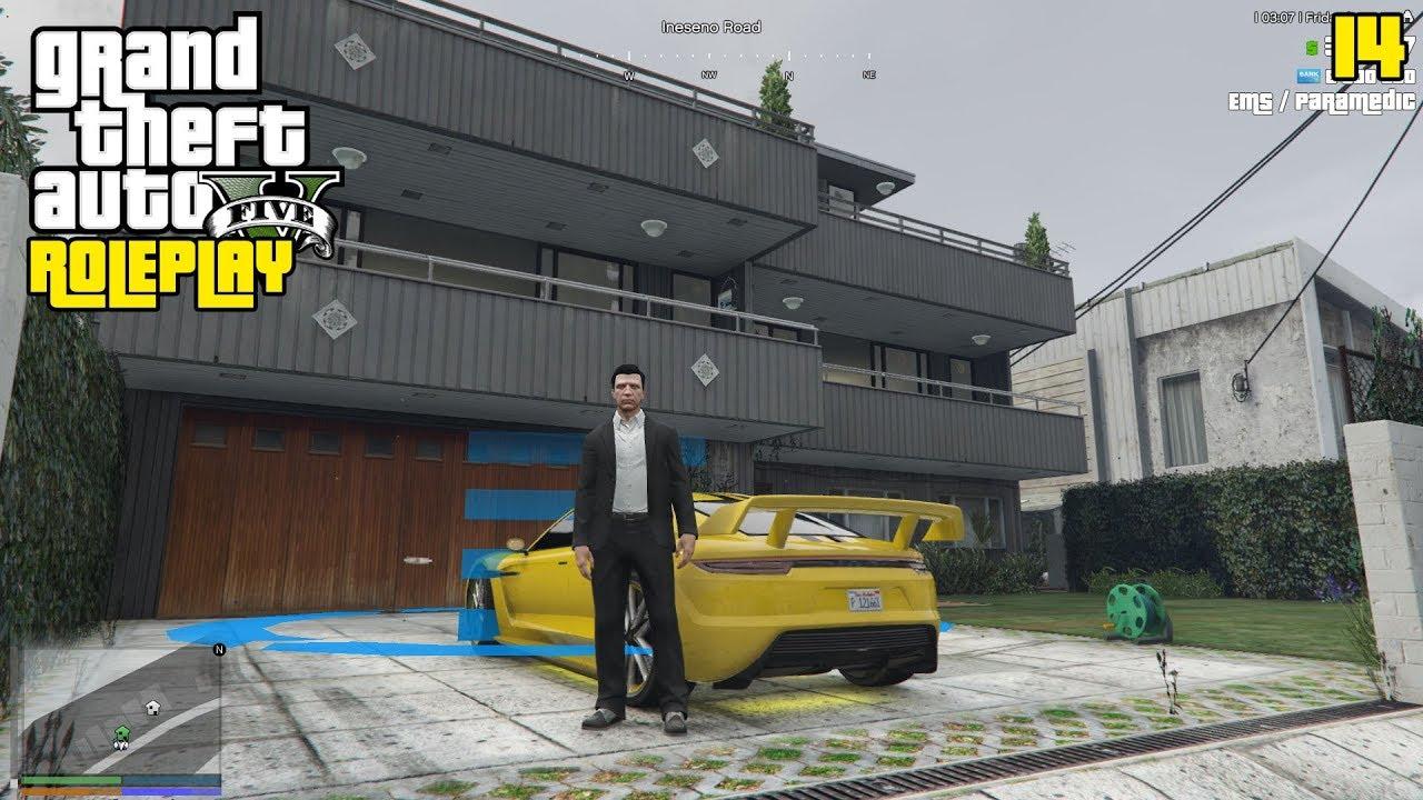 Beli Rumah Mobil Baru Tajir Pak Eko 14 Gta 5 Roleplay Youtube