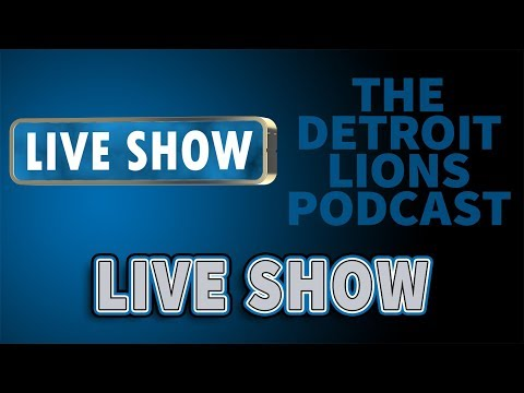 Detroit Lions Podcast Lions/Saints Postgame Show