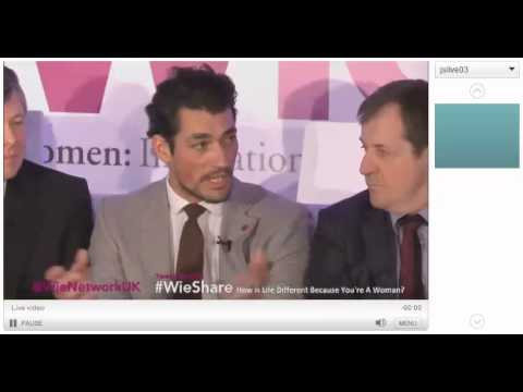 David Gandy at the WIE London~March 8th 2013