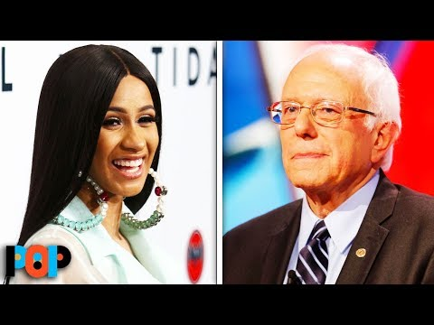 Here's What Bernie Sanders And Cardi B Have In Common