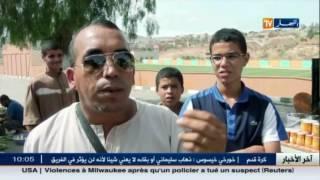 تلمسان : جدار إسمنتي فاصل بين الجزائر و المغرب