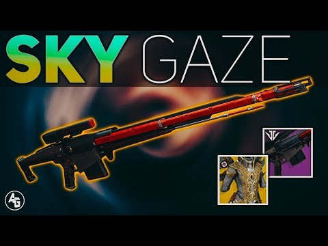 Tatara Gaze + Wings of Sacred Dawn (Sky Gaze) | Destiny 2 Black Armory
