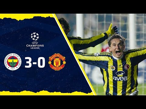 MAÇ ÖZETİ: Fenerbahçe 3-0 Manchester United (2004-05 Şampiyonlar Ligi)