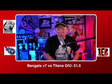 Cincinnati Bengals vs Tennessee Titans NFL Pick and Prediction Sunday 11/01/20 Week 8 NFL  PickDawgz