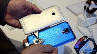 Galaxy S 5 vs HTC One