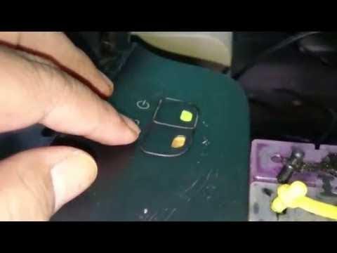 Printer Canon 2770 lampu orange kedip 13 kali atau kedip 16 kali, cara mudah mengatasi.