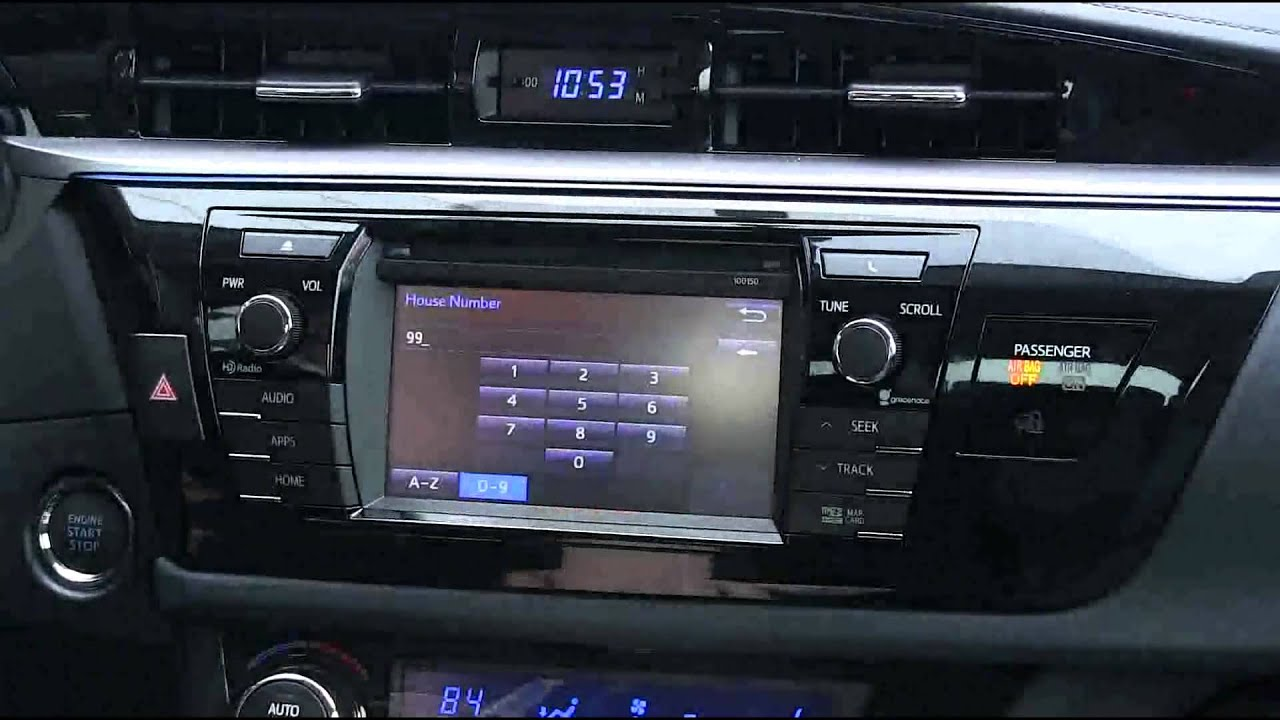2014 corolla radio not working