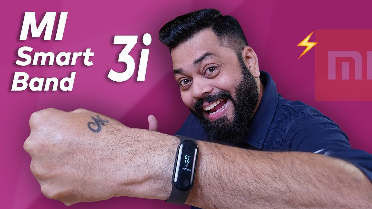 MI Band 3i Unboxing & First Look ⚡⚡⚡ 20 Days Battery Life + AMOLED Screen