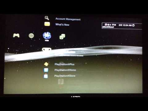 how to delete accounts on ps3