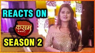 Kratika Sengar REACTS On Kasam Tere Pyar Ki Season 2 Sharad Malhotra Sangeet Ceremony