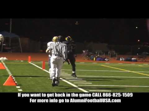 Elk Grove vs Laguna Creek Alumni Football Game 12/5/09