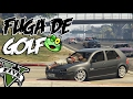 Gta V - Fuga Golf SapÃo ( Mc Martinho - Caminho Das Rosas ) video