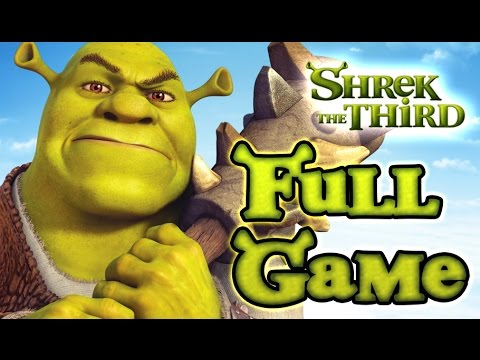 Shrek The Third  FULL GAME Longplay (PS2, PSP, PC, Wii)