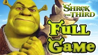 Shrek The Third Walkthrough FULL GAME Longplay (PS2, PSP, PC, Wii)