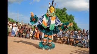zahouli, folklore gouro, Cote d'Ivoire