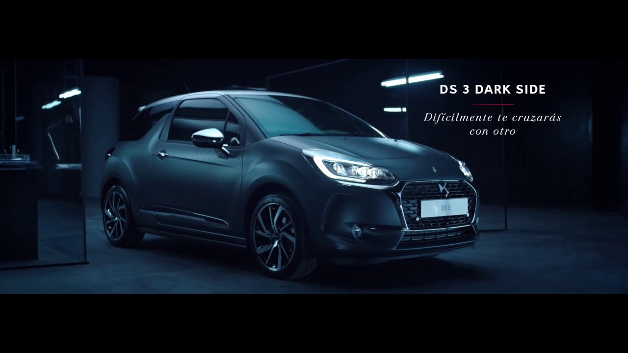 ds 3 dark side un coche chic y tecnol gicamente atrevido youtube. Black Bedroom Furniture Sets. Home Design Ideas