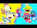 Funny Stories About Wolfoo Pretends to Be a Parent of Alien Baby | Wolfoo Channel Kids Cartoon