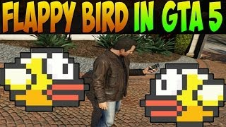 GTA 5: FLAPPY BIRD EASTER EGG: HOW TO PLAY FLAPPY BIRD ON GTA V