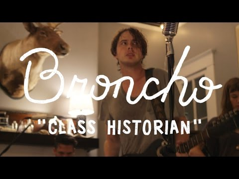 Broncho - Class Historian (On The Boat)