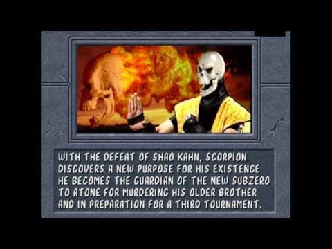 Mortal Kombat 2: The Endings